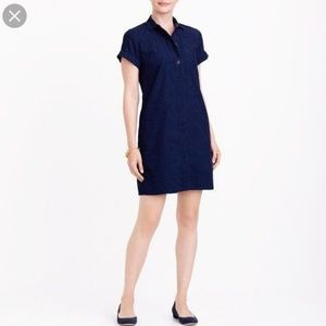 J. Crew Factory Dresses - J. Crew corduroy shirtdress